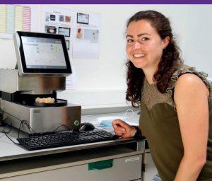 Rebecca Junior R&D-scientist